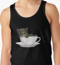Kitten in a Cup Tank Top