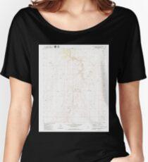 USGS TOPO Map Arizona AZ Little Harpo Canyon 312107 1979 24000 Women's Relaxed Fit T-Shirt