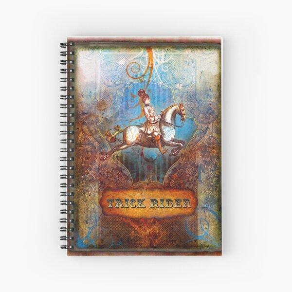 2012 Cirque du Collage page 11 Spiral Notebook