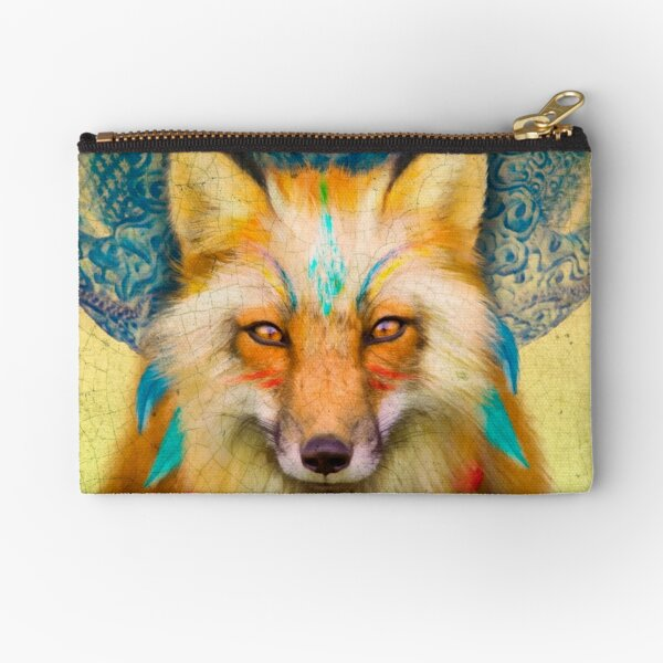 Wise Fox Zipper Pouch