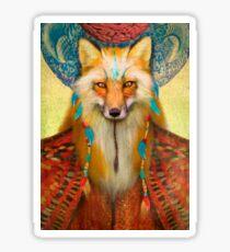Wise Fox Sticker