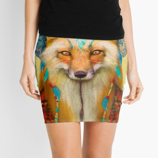 Wise Fox Mini Skirt