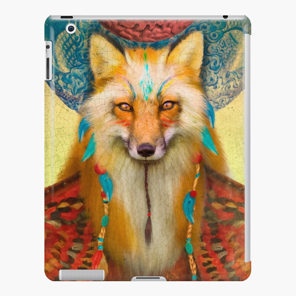 Wise Fox Funda y vinilo para iPad