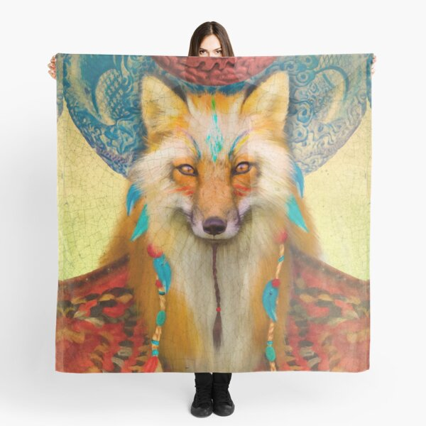Wise Fox Scarf