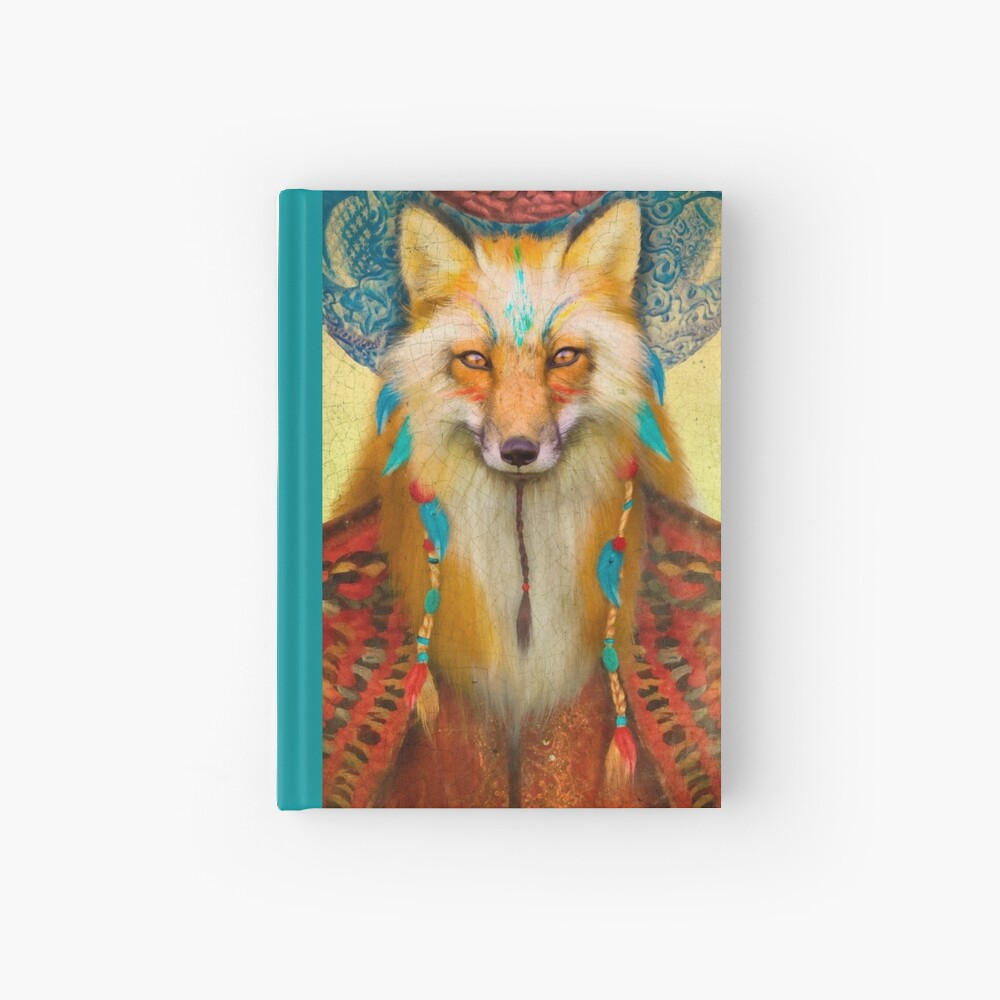 Wise Fox Hardcover Journal
