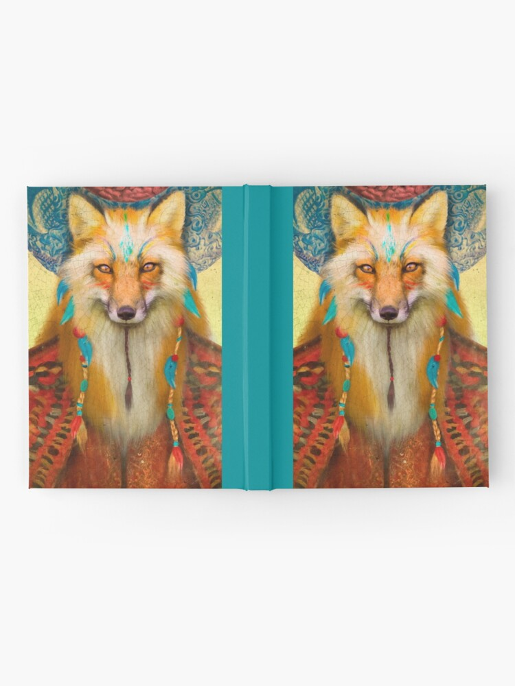 Alternate view of Wise Fox Hardcover Journal