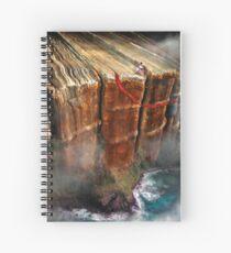Cliffhanger Spiral Notebook
