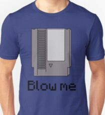 NES cartridge- blow me T-Shirt