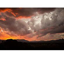 Mullum Sunsets Photographic Print