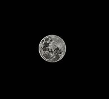 Supermoon by Thomas Stayner