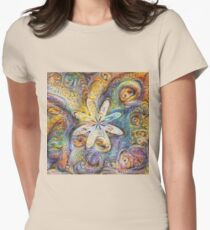 Eight armed starfish #DeepDream Fitted T-Shirt