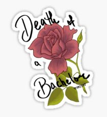 Death of a Rose Sticker