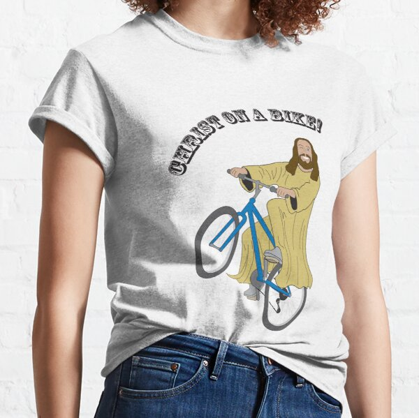 Christ on a bike Classic T-Shirt