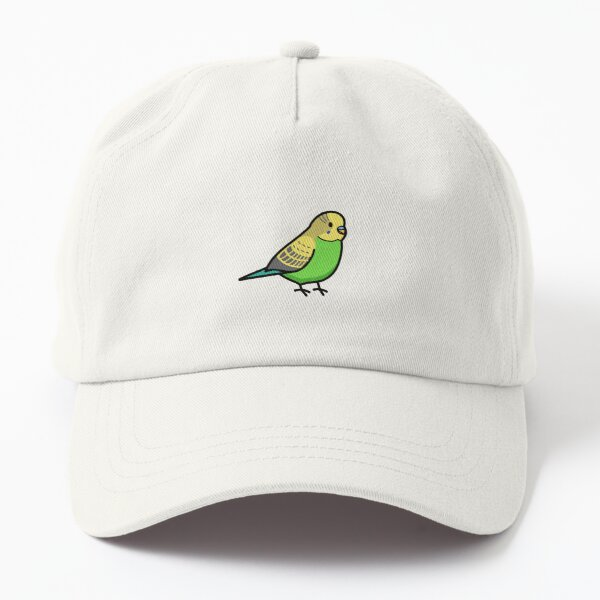 Green Budgie Dad Hat