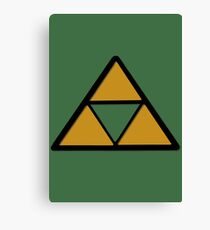may the triforce be with you Canvas Print