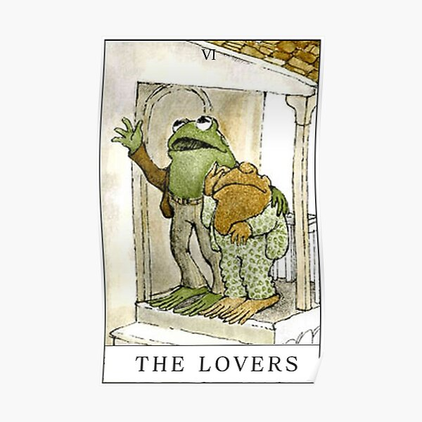 FROG AND TOAD THE LOVERS Poster