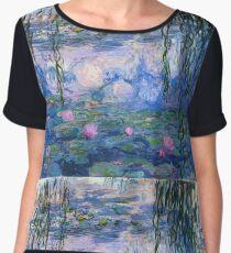 Claude Monet - Water Lilies 1919 Chiffon Top