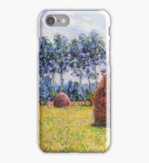 Claude Monet - Haystacks At Giverny 1 iPhone Case/Skin