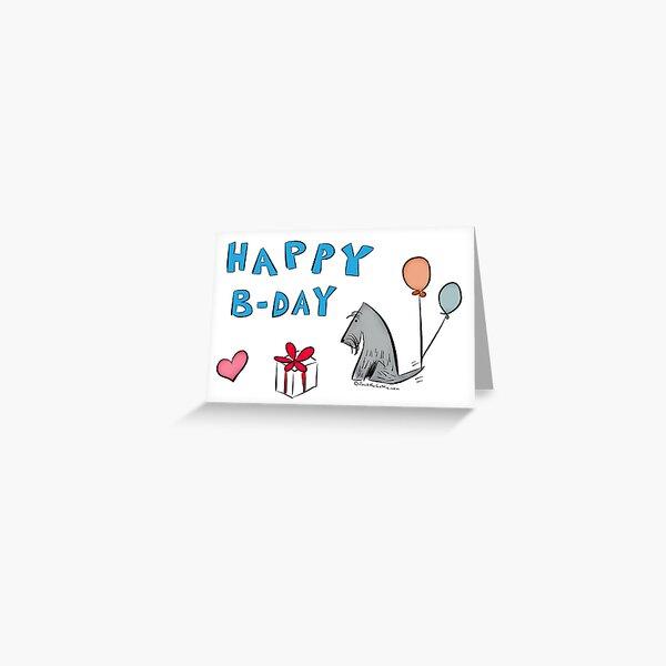 Jack -  Happy Birthday - Present Greeting Card