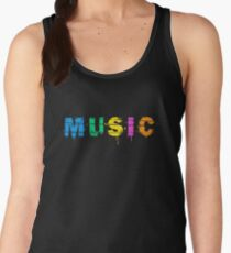 music colorful Women's Tank Top