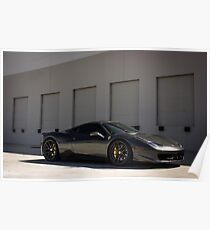 Stealthy Italian Supercar! Poster