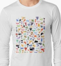 99 CATS TSHIRT Long Sleeve T-Shirt