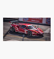 Italian Race Car Tearing up the Streets of Long Beach! Photographic Print