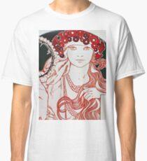 Alphonse Mucha - Mucha Exhibition Classic T-Shirt