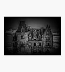 Adams Family Mansion Photographic Print