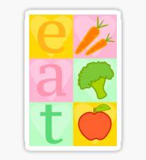 Eat your Vegetables! Sticker