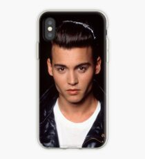 Young Johnny Depp iPhone Case