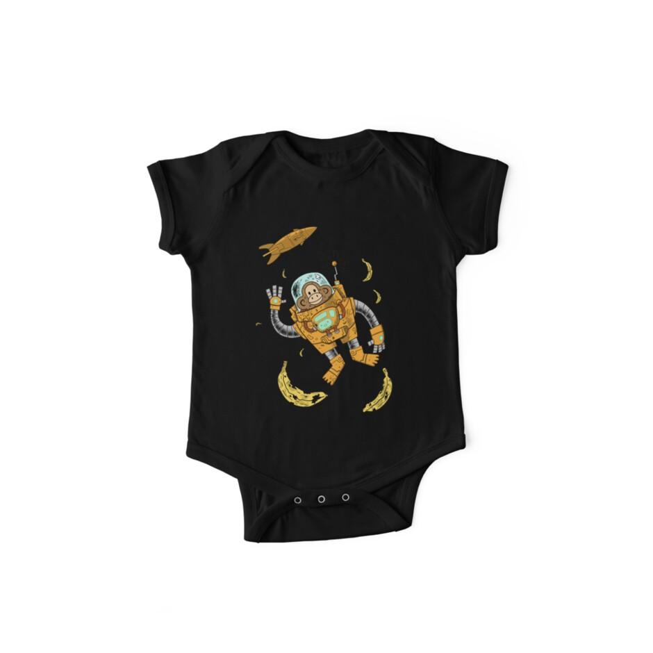 space chimp by caravantshirts