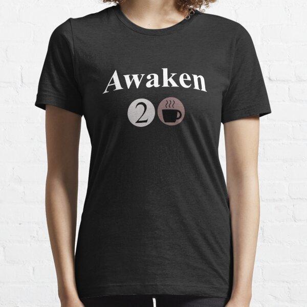 Awaken Large - Café T-shirt essentiel