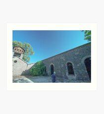 Shot tower, La Cruz lead smelter, Linares, Spain Art Print