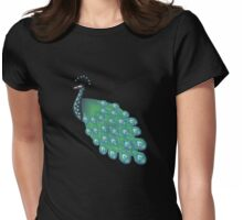 NAVY PEACOCK 111 X1 Womens Fitted T-Shirt