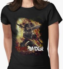 Tomb Raider Women's Fitted T-Shirt