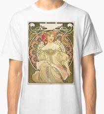 Alphonse Mucha - Champagne 1897  Classic T-Shirt