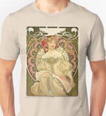 Alphonse Mucha - Champagne 1897  Unisex T-Shirt