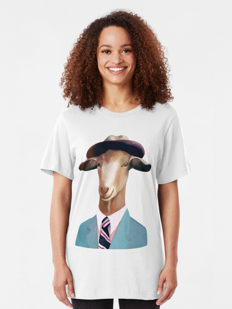 Alternate view of Goat Slim Fit T-Shirt