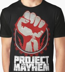 Fight Club Project Mayhem Design Graphic T-Shirt