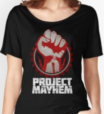 Fight Club Project Mayhem Design Women's Relaxed Fit T-Shirt
