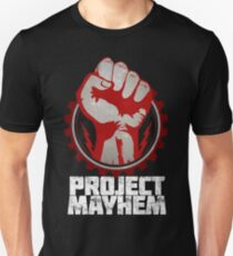 Fight Club Project Mayhem Design T-Shirt