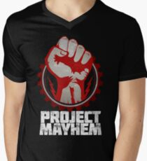 Fight Club Project Mayhem Design Men's V-Neck T-Shirt