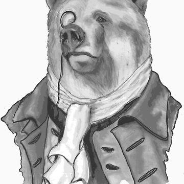 Reginald. B. Bearsworth (A Gentleman Bear) by Miln3r