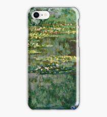 Claude Monet - Le Bassin des Nympheas (1904)  iPhone Case/Skin