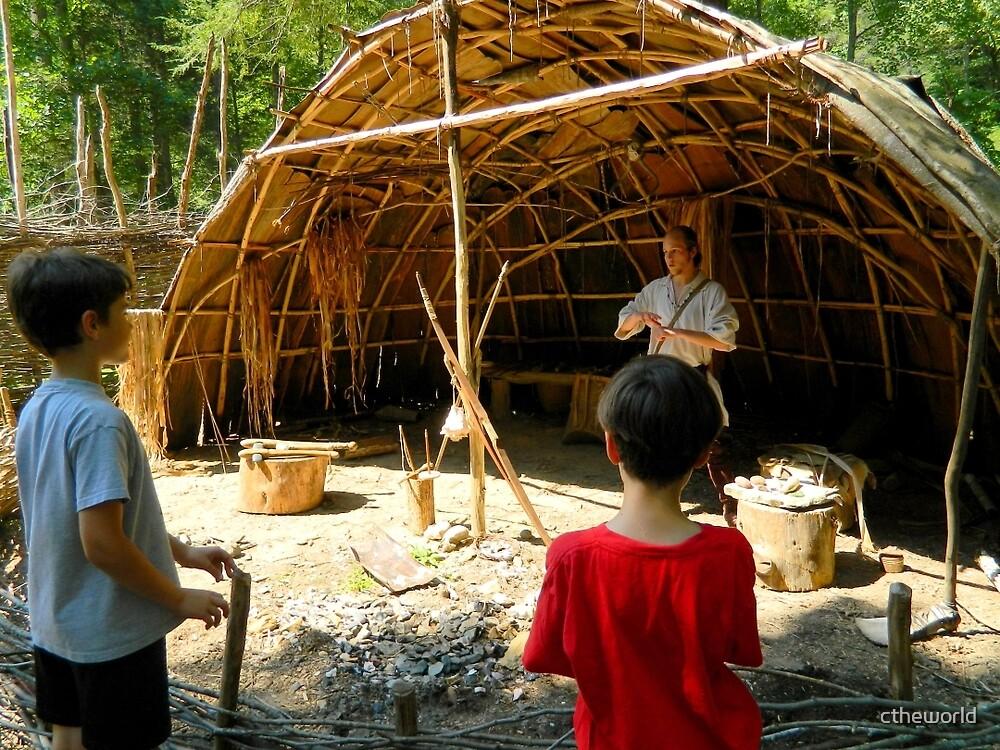 Monacan Indian Village (Craftsman) - Natural Bridge, VA   ^ by ctheworld