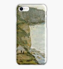 Claude Monet - Cape Antifer, Etretat  iPhone Case/Skin