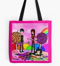 Blood on the dance floor tote bags redbubble candyland tote bag tyukafo