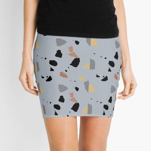Terrazzo Surface Mini Skirt