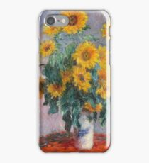 Claude Monet - Bouquet Of Sunflowers iPhone Case/Skin